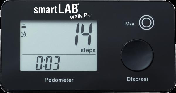 smartLAB walk P+ Schrittzähler mit ANT Datenübertragung