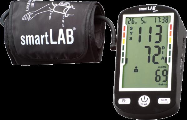 smartLAB profi+ Oberarm Blutdruckmesser mit ANT drahtloser Datenübertragung